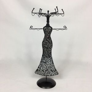 Jewelry Wire Stand Dress Form Organizer
